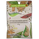 Splendor Garden Organic Mustard Seed Brown Grd, 45gm