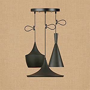E27 Vintage Musical Instruments Pendant Lights Adjustable Ceiling Lights Industrial Retro Iron Chandelier Bedroom Living Room Bathroom Loft Hotel Cafe Bar Mall Hanging Lights Indoor Decor Lighting,D