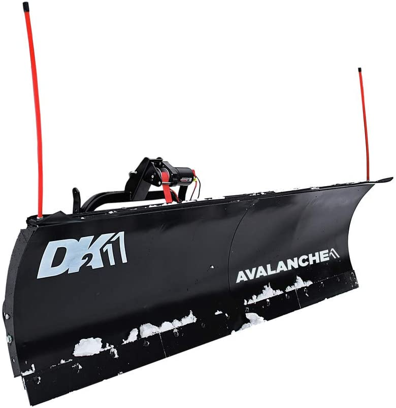 DK2 Avalanche Universal Snow Plow Kit - 82in. x 19in. 2in. Receiver Mount, Model Number AVAL8219