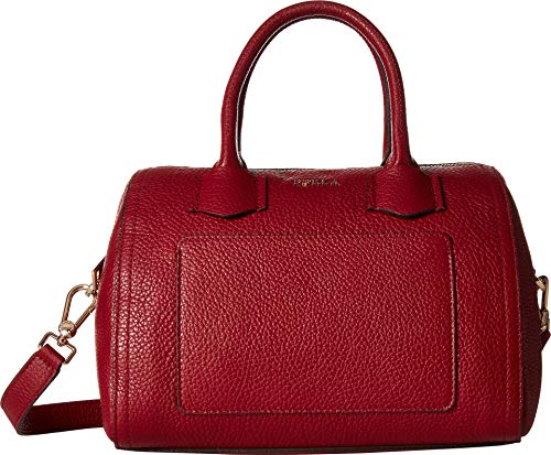 Furla Women's Furla Alba Small Satchel, Ciliegia, Red, One Size