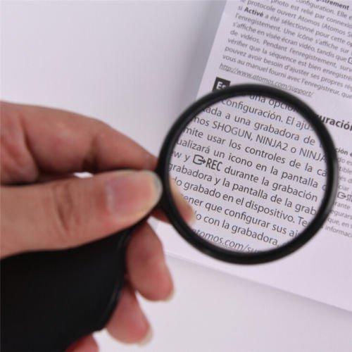 LeLeLeShop(TM) - Lupa Plegable DE 10 x Mini Bolsillo para ...