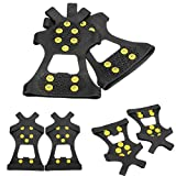 Anti skid Shoes Cover Climbing Shoes Crampons ( XL )