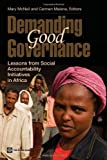 Demanding Good Governance: Lessons from Social Accountability Initiatives in Africa