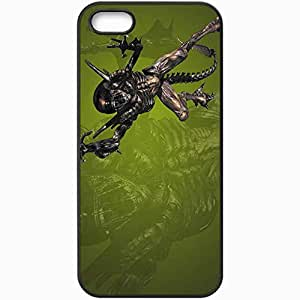 Personalized iPhone 5 5S Cell phone Case/Cover Skin Alien Black