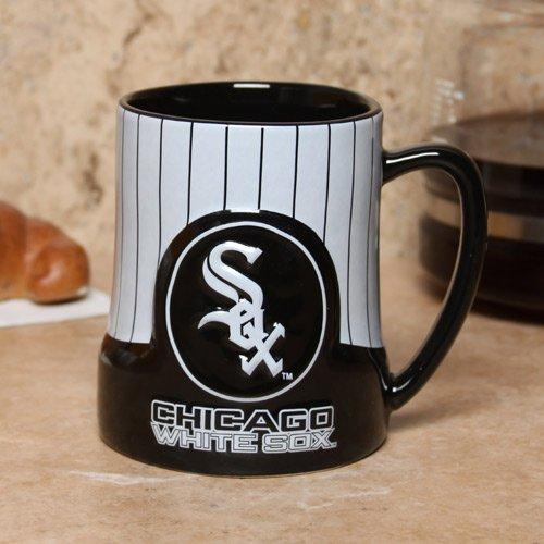 Boelter Brands MLB Chicago White Sox 453031 Coffee Mug, Team Color, 18 oz