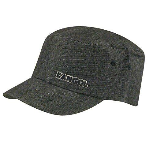 - Kangol Men's Denim Army Cap, Black, Small/Medium