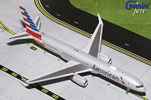 (GeminiJets 1:200 Scale American Airlines Boeing 757-200 Airplane Model)