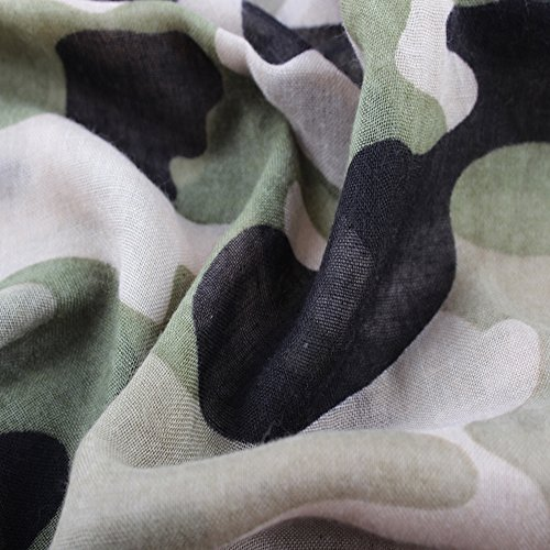 e0118bfcf1402 ctshow Camouflage Print Voile Print Scarf Fashionable Women Scarves ...