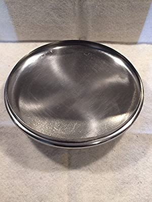 """REVERE WARE 10"""" Inch LID ONLY LID Replacement LID ONLY Silver Stainless Steel"""