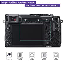 Fujifilm X100 X100T XE2 XE2S Screen Protector - MOTONG LCD Tempered Glass Screen Protector For Fujifilm X100 X100T XE2 XE2S,9 H Hardness,0.3mm Thickness,Made From Real Glass