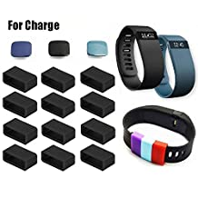 Fitbit Charge Clasps By Allrun, Colorful Metal Clasps for Fitbit Charge Band Wireless Activity Bracelet Sport Wristband (No Tracker or Band, Replacement Clasps Only)