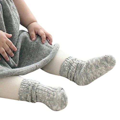 cheap Exteren 1 Pairs Winter Cotton Warm Solid Socks for Kids Toddler Baby Boys Girls for sale