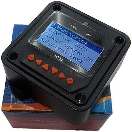 30A + MT50 + RTS medidor remoto MT-50 Carga solar con pantalla LCD para carga de bater/ía solar Controlador de carga solar EPEVER MPPT Tracer Un controlador solar
