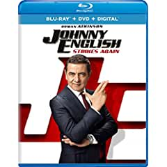 Johnny English Strikes Again arrives on Digital Jan. 8 and on Blu-ray, DVD Jan. 22 from Universal