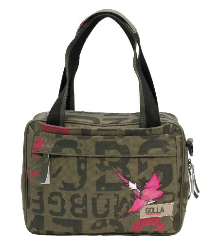 GOLLA Coral Army G-Bag for 11-Inch Laptops, Green (G1287)