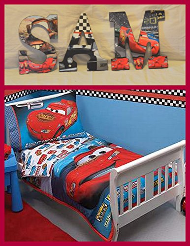 Disney Cars Inspired Wooden Letters  Anyroom