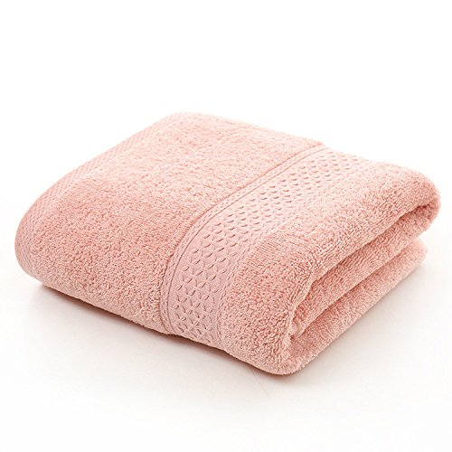Levao's Cotton Bath Towels (Pink,55 x 28 Inch) Luxury Bath Sheet Perfect for Home, Bathrooms, Pool and Gym Cotton towel
