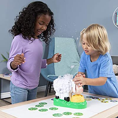 Spin Master Games 6053962 Baa Bubbles, Bubble-Blasting Game with Interactive Sneezing Sheep, for Kids Aged 4 & Up: Toys & Games