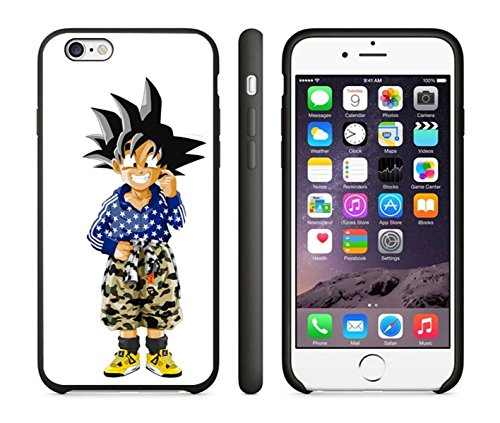 Dragon Ball Z X Bape Case Cover Your iPhone 6 Case and iPHone 6s Case ( Black Hard Plastic )