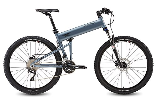 Montague Paratrooper Highline 20″ Matte Grey 20 Speed Folding Mountain Bike-New Model For Sale