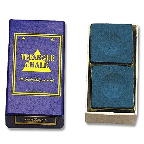 Billard-Kreide Triangle Blau 2erPack