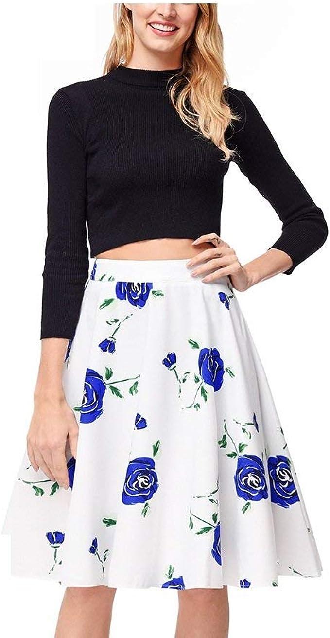 Faldas Damas Casual Moda De Verano De Único Las Falda Señoras ...
