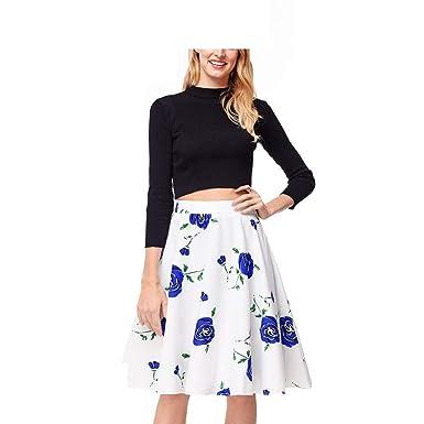 Faldas Damas Casual Moda Verano Falda De De Las Señoras Ropa ...