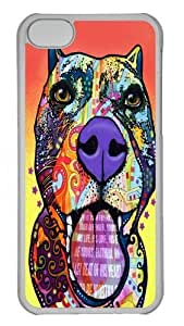 iPhone 5C Case and Cover - BDB Polycarbonate Hard Case Back Cover for iPhone 5C Transparent