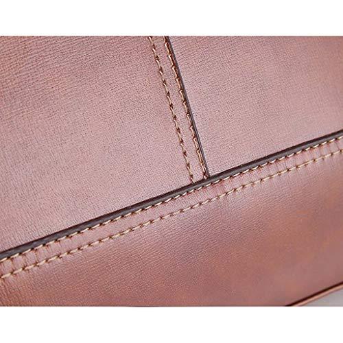 Hommes Taille Pour Décontracté Cuir Brown couleur Bandoulière 29cm Cloud Main Brown À Sac D'affaires En xqBIB7z