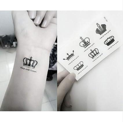 ZHAOHH Etiqueta Engomada del Tatuaje Temporal Impermeable Royal ...