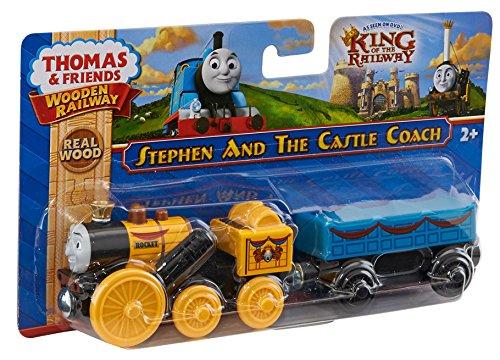 Fisher-Price Thomas the Train Wooden Railway Stephen Engine