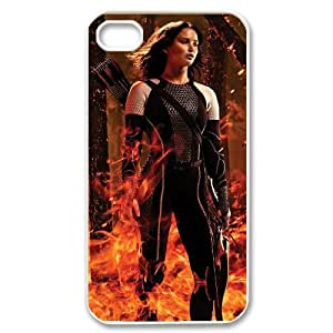 AKERCY The Hunger Games Catching Fire Katniss Phone Case For Iphone 4/4s [Pattern-2]