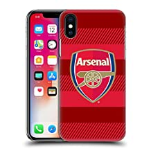 Official Arsenal FC Training Red 2016/17 Crest Hard Back Case for Apple iPhone 5 / 5s / SE