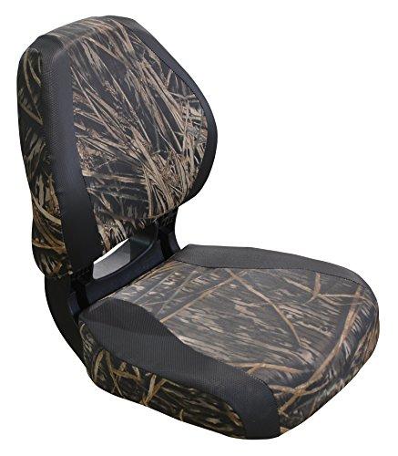 - Wise 3160-1830 Torsa Scout Folding Boat Seat, Mossy Oak Shadow Grass Camo