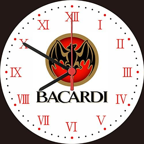 Bacardi Ron reloj de pared: Amazon.es: Hogar