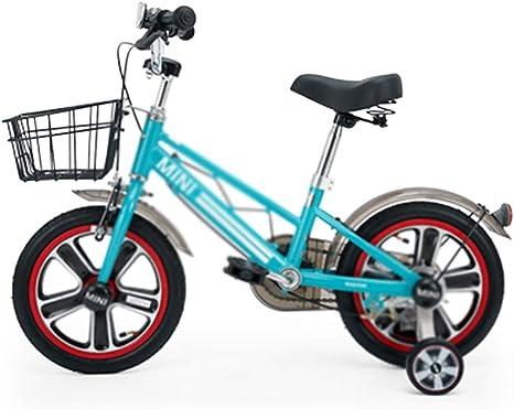 Ppy778 Bicicleta para niños 14 Pulgadas niño niña Bicicleta ...