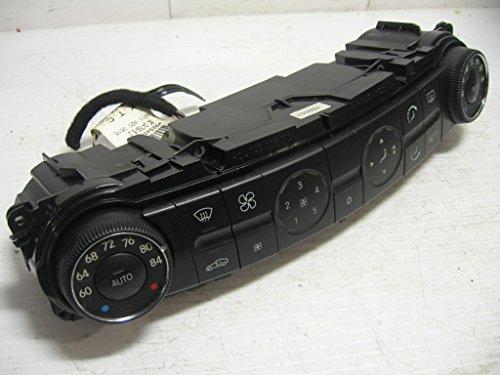 Benz Climate Mercedes Control (W211 E-class Mercedes Benz Climate Control Heater A/C dash unit module Temperature HVAC Dual Zone)