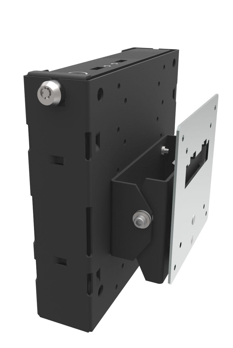 RackSolutions Wall Mount for Lenovo ThinkCentre M93p Tiny Desktop - Tilt Monitor