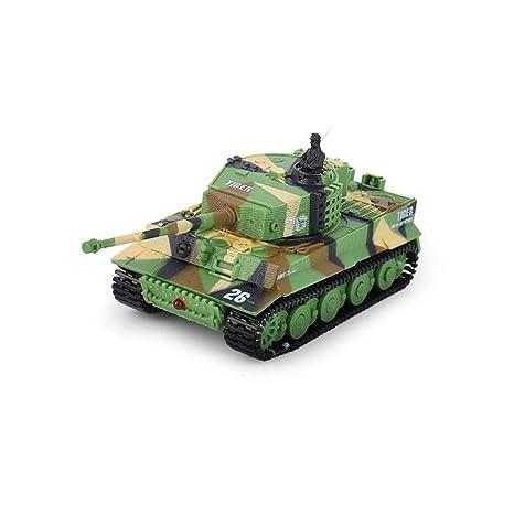 Alapet Mini tanque de control remoto Sonido dinámico Cuerpo ...