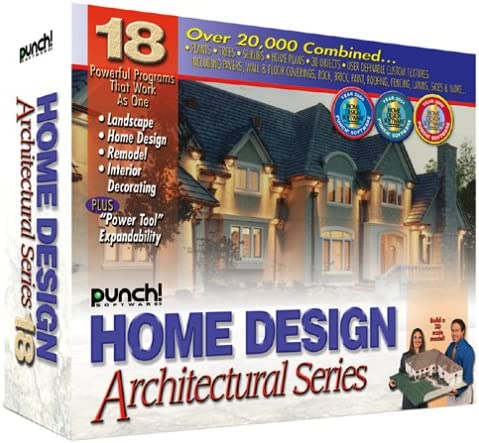 Punch Home Design Architectural Series 18 Software Amazon Ca