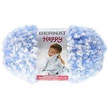 Bernat Small Polyester Happy Ball of Yarn, Blue Belles by Bernat