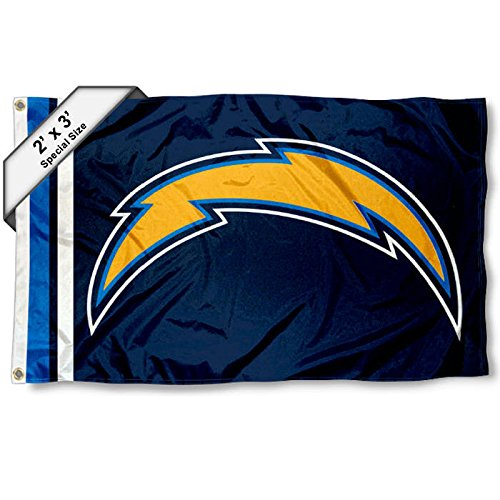 Diego Flag San Chargers (San Diego Chargers 2x3 Feet Flag)