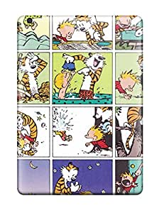 Excellent Ipad Air Case Tpu Cover Back Skin Protector Calvin And Hobbes