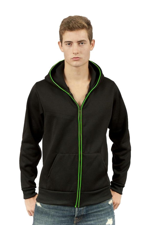 Amazon.com: SOVO Men\'s Light up Glowing Hoodie: Clothing