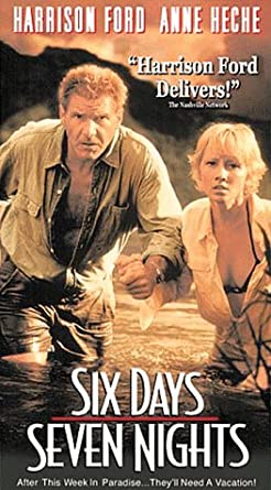 Amazon com: Six Days Seven Nights [VHS]: Harrison Ford, Anne
