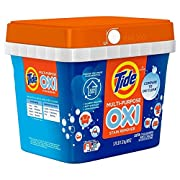 Tide Multi-Purpose Oxi Stain Remover Powder, Chlorine Free, 57 Loads, 60 Ounce (2 Pack)