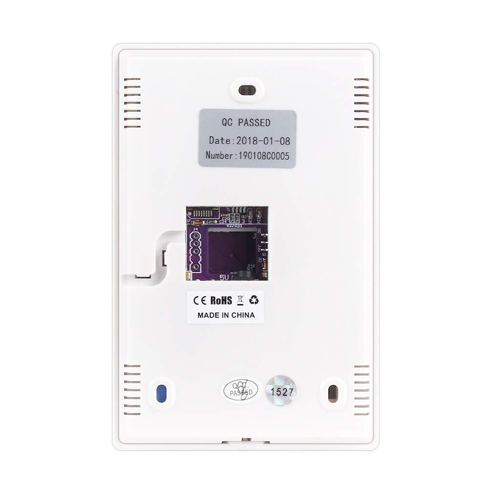Wolf-Guard JP-08C 433MHz Teclado inal/ámbrico con contrase/ña para Sistema de Alarma con funci/ón de Lectura de Tarjeta RFID