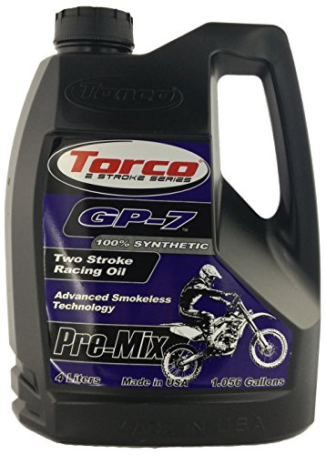 (Torco T930077FE GP-7 2-Cycle Racing Oil - 1 Gallon Jug)