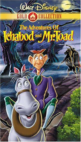 The Adventures of Ichabod and Mr. Toad (Walt Disney Gold Classic Collection) [VHS] -