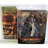 Pirates des Caraïbes 2 - Le secret du coffre maudit - Figurine Jack Sparrow - Env. 18 cm